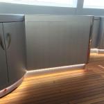 """Interior Mangusta 108"""" Lights - Inox - Dinoc"""